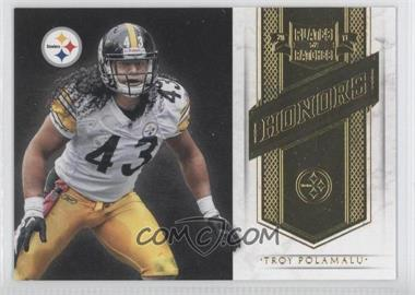 2011 Plates & Patches Honors #8 - Troy Polamalu /249