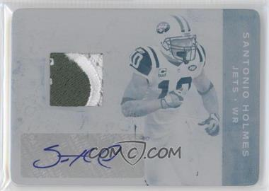 2011 Plates & Patches Printing Plate Cyan #48 - Santonio Holmes /1