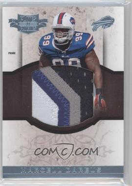 2011 Plates & Patches RPS Rookie Jumbo Materials Prime #24 - Marcell Dareus /15