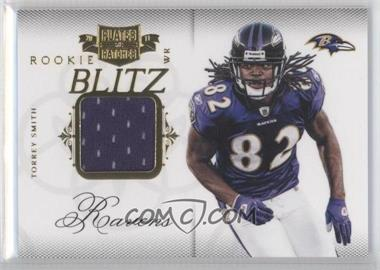 2011 Plates & Patches Rookie Blitz Materials [Memorabilia] #18 - Torrey Smith /299