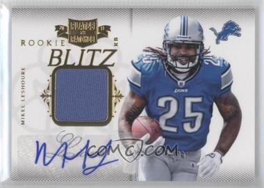 2011 Plates & Patches Rookie Blitz Materials Signatures [Autographed] [Memorabilia] #27 - Mikel Leshoure /25