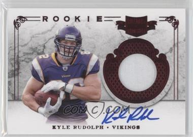 2011 Plates & Patches #214 - Kyle Rudolph /499