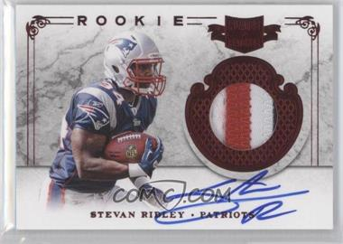 2011 Plates & Patches #223 - Stevan Ridley /499