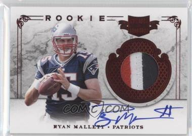 2011 Plates & Patches #224 - Ryan Mallett /299