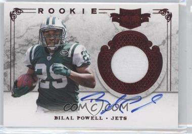 2011 Plates & Patches #234 - Bilal Powell /499