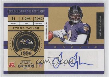 2011 Playoff Contenders - [Base] #184 - Tyrod Taylor