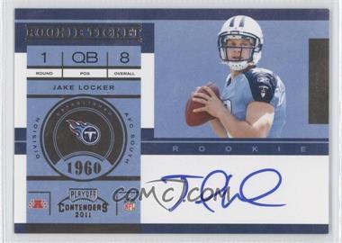 2011 Playoff Contenders - [Base] #211.1 - Jake Locker (Base)