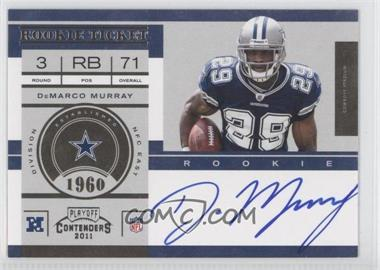 2011 Playoff Contenders - [Base] #231.1 - DeMarco Murray (Base)