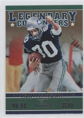 2011 Playoff Contenders - Legendary Contenders #7 - Steve Largent
