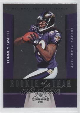 2011 Playoff Contenders - Rookie of the Year Contenders #12 - Torrey Smith