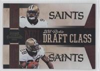 Cameron Jordan, Mark Ingram /100