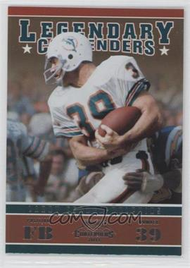 2011 Playoff Contenders Legendary Contenders #11 - Larry Csonka