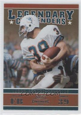 2011 Playoff Contenders Legendary Contenders #11 - Larry Csonka