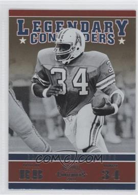 2011 Playoff Contenders Legendary Contenders #2 - Earl Campbell