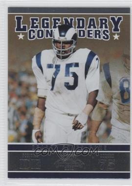 2011 Playoff Contenders Legendary Contenders #21 - Deacon Jones