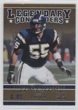 2011 Playoff Contenders Legendary Contenders #24 - Junior Seau