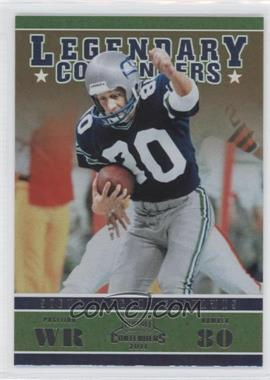 2011 Playoff Contenders Legendary Contenders #7 - Steve Largent