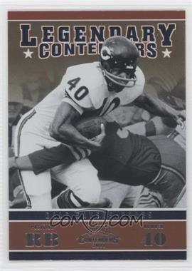 2011 Playoff Contenders Legendary Contenders #8 - Gale Sayers