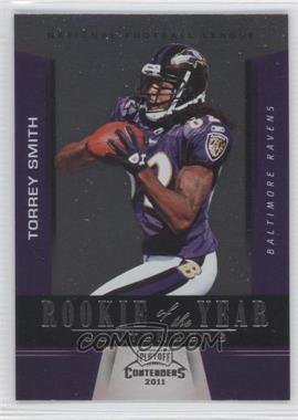 2011 Playoff Contenders Rookie of the Year Contenders #12 - Torrey Smith