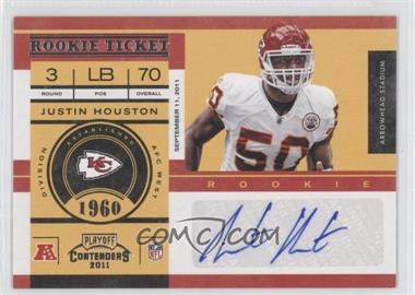 2011 Playoff Contenders #147 - Justin Houston