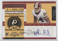 Niles Paul /152