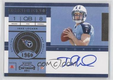 2011 Playoff Contenders #211 - Jake Locker