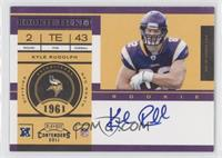 Kyle Rudolph (No Watch on Wristband) /100