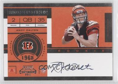2011 Playoff Contenders #225 - Andy Dalton