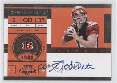 2011 Playoff Contenders #225.1 - Andy Dalton (Base)