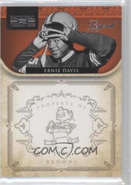 2011 Playoff National Treasures - [Base] #155 - Ernie Davis /99