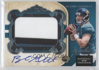 2011 Playoff National Treasures - [Base] #304 - Blaine Gabbert /99