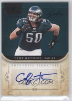 Casey Matthews /25