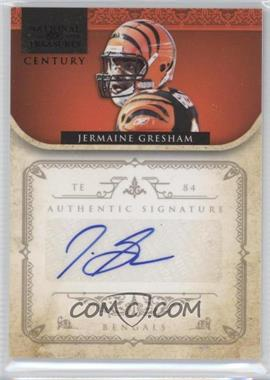 2011 Playoff National Treasures Century Black Signatures [Autographed] #31 - Jermaine Gresham