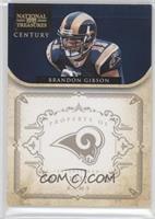 Brandon Gibson #3/10