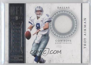 2011 Playoff National Treasures NFL Greatest Game-Worn Material #17 - Troy Aikman /99