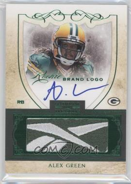 2011 Playoff National Treasures Rookie Brand Logo Signatures #32 - Alex Green /10