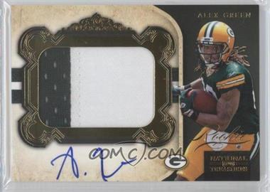 2011 Playoff National Treasures Rookie Gold Signature Materials #316 - Alex Green /49