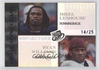Mike Leach, Ryan Williams /25