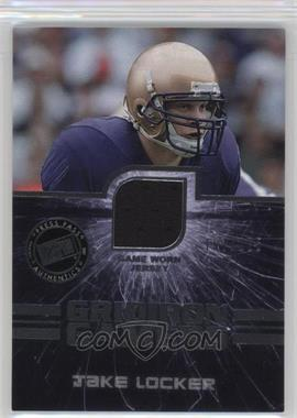 2011 Press Pass - Gridiron Gamers Jerseys - Silver #GG-JL - Jake Locker /225