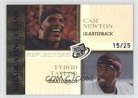Cam Newton, Tyrod Taylor /25