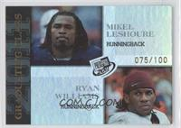 Mike Leach, Ryan Williams /100