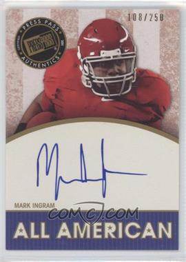 2011 Press Pass Legends [???] #AA-MI - Mark Ingram /250