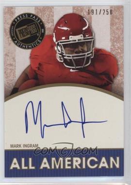 2011 Press Pass Legends [???] #AA-MI - Mark Ingram /250