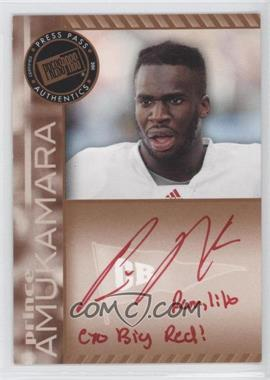 2011 Press Pass Signings Bronze Red Ink #PPS-PA - Prince Amukamara