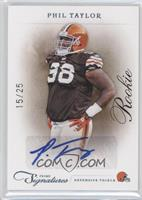Rookie - Phil Taylor /25