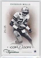 Everson Walls /25