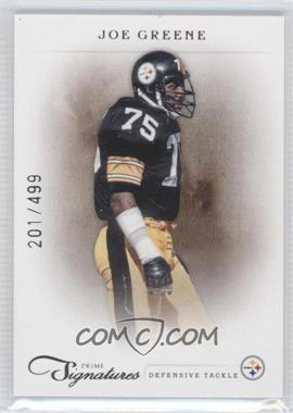 2011 Prime Signatures #96 - Joe Greene /499