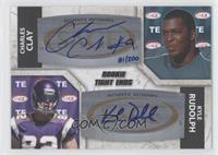 Charles Clay, Kyle Rudolph /200