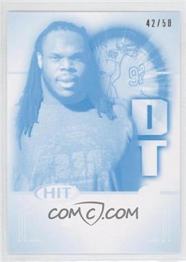 2011 SAGE Hit Cyan Make Ready #92 - Drake Nevis /50