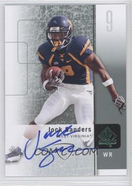 2011 SP Authentic - [Base] - Autographs [Autographed] #65 - Jock Sanders